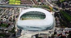 The magnificent Aviva Stadium in Dublin, Ireland