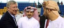 Sir Alex with Qatar sports enthusiasts