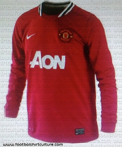 2011/2012 Manchester United Home Shirt