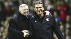 Sir Alex Ferguson and Carlos Queiroz