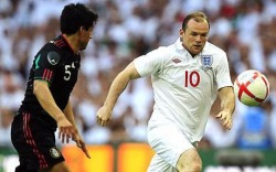 Wayne Rooney against Mexico, 24th May