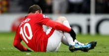 Rooney: In the stands v's Rovers :(