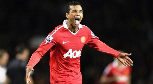 Manchester United 2-0 Tottenham Hotspur - Luis Nani