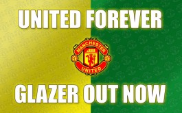 UNITED FOREVER, GLAZERS OUT NOW