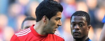 Liverpool footballer Luis Suarez charged with racism towards Manchester United footballer Patrice Evra