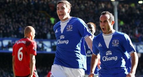 Everton humiliate United last season !