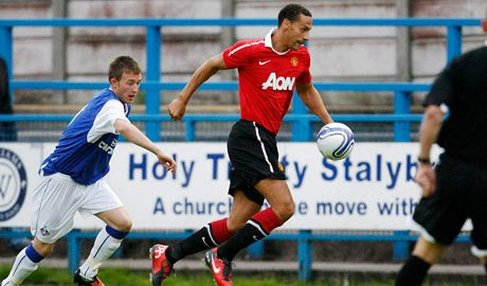 Rio Ferdinand and Oliveira Anderson return for United's Reserves v Oldham Athletic