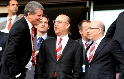 David Gill with The Glazers
