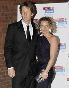 Edwin with wife Annemarie